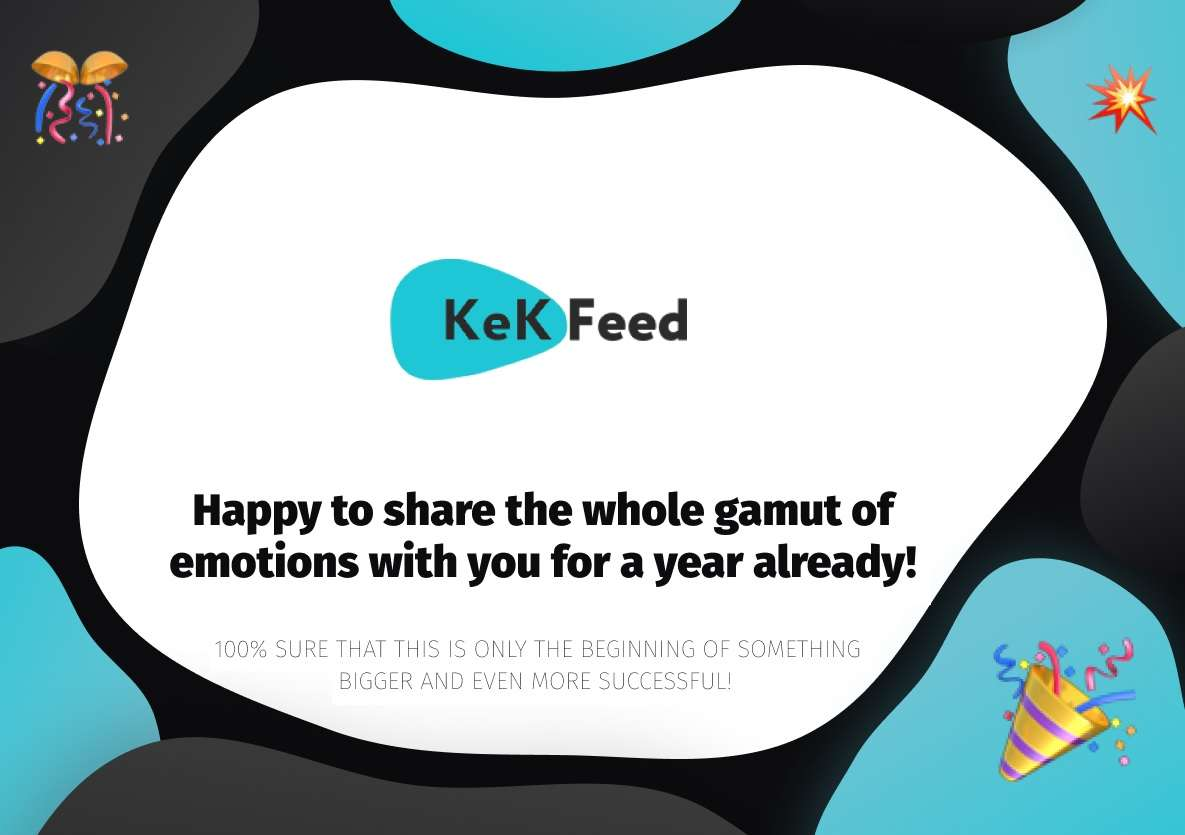 Kekfeed and DIGIS Celebrate the 1st Anniversary of Our Partnership
