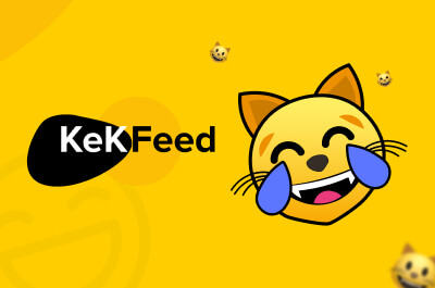 KekFeed case: quality help to boost side project