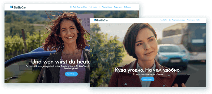 BlaBlaCar Screen